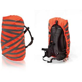 XLC BA-S90 Housse de pluie pour sac à dos, orange/silber